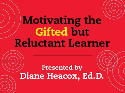 motivating the gifted but reluctant learner